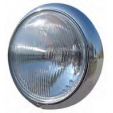 "8-197  7"" Chrome Headlight"