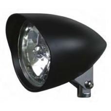 "8-32 Black Headlights Assemblies. Black Headlights, with round visor, 5-3/4"""