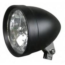 "8-33 Black Headlight Assemblies. Black Headlight, Stretched, 5-3/4"""