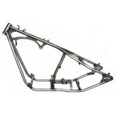 """85-183 200 Series Wide Rigid frame with tank mounts. 34˚ rake, 4"""" stretch downtubes."""