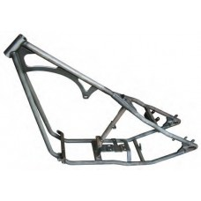 """85-408 200 Series Wide Rigid frame, 38˚ rake, 8"""" stretch downtubes. Does not include flat side Fat Bob mounts."""