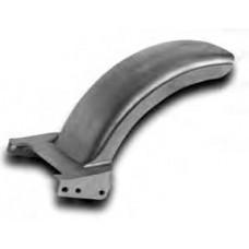 19-165 Strutless Rear Fenders. Chrome Horse strutless short fender