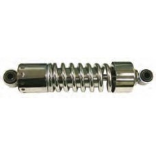 "116-14 Chrome Plated Shock Absorbers - Complete Assembly. Fits FL, FX & FXWG (1973-1986). With covers. 12"" Eye to eye"