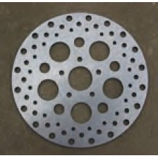 90-759 Ultima Satin Finish Stainless Steel Brake Rotors. All models, rear, 2000 & later